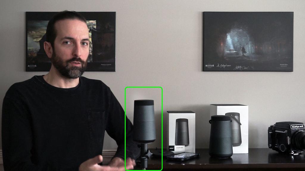 haut-parleur Bluetooth Bose Soundlink Revolve+ trépied
