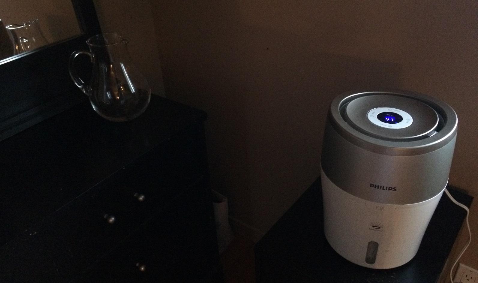 test de l humidificateur d air s ries 2000 de philips. Black Bedroom Furniture Sets. Home Design Ideas