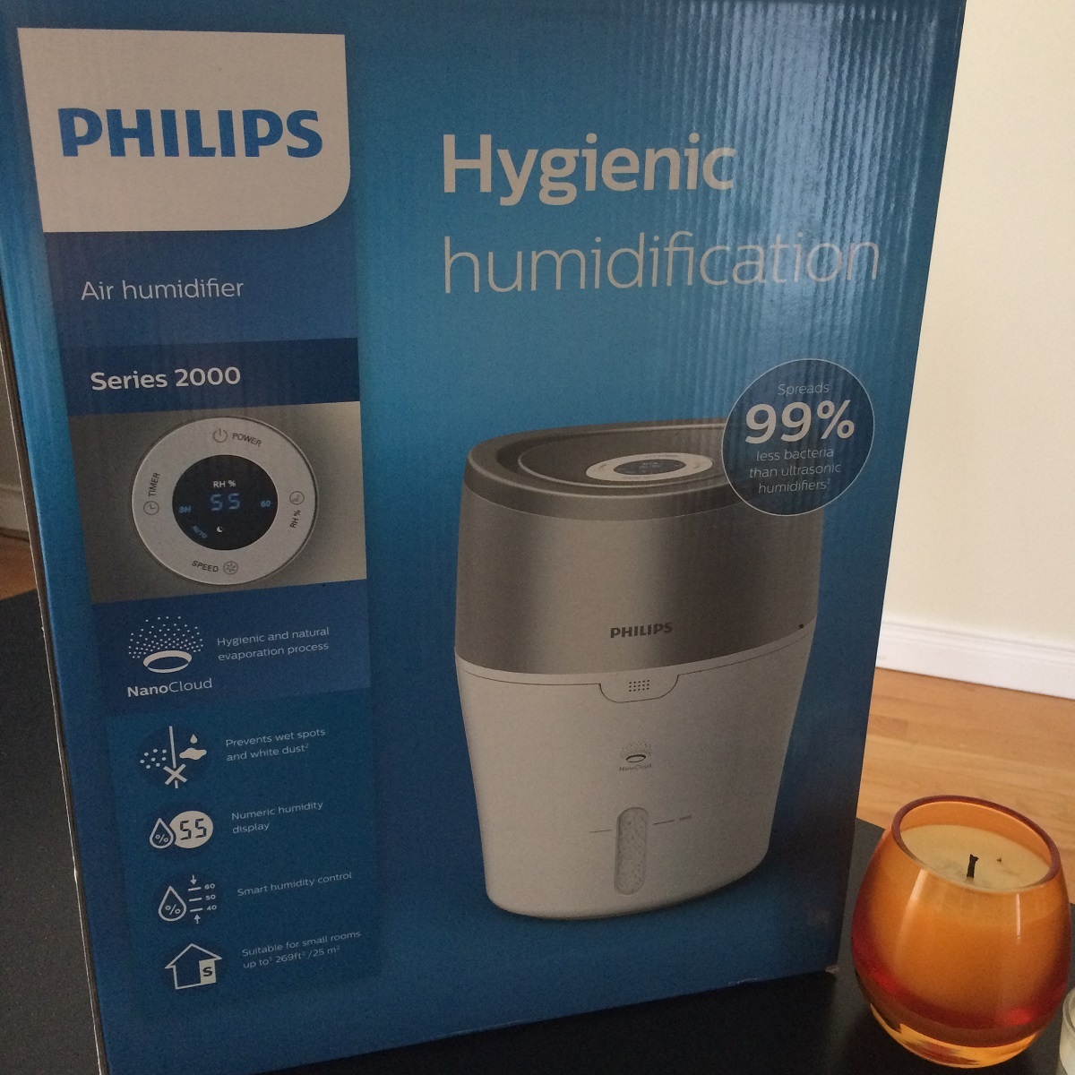 Humidificateur Philips 6