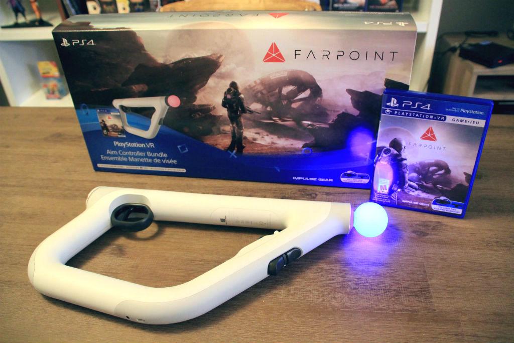 farpoint PSVR controller bundle