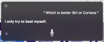 Siri ou Cortana