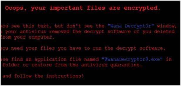 WannaCry rançongiciel
