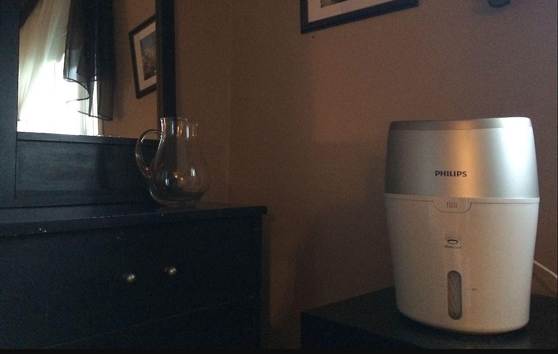 Test de l humidificateur d air s ries 2000 de philips for Humidificateur d air maison