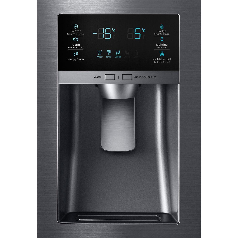 Réfrigérateur à 4 portes 24,7 pi3 33po avec distributeur d'eau/glaçons de Samsung