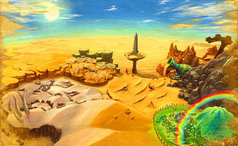 3DS_EverOasis_ConceptArt_WorldMap