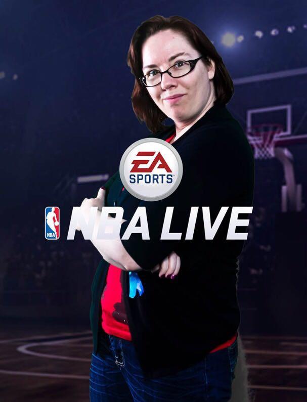 Mel NBA Live EA PlayFest