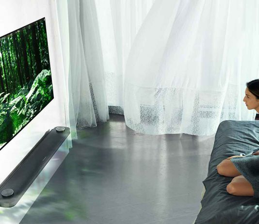 LG Signature W7 OLED Wallpaper TV