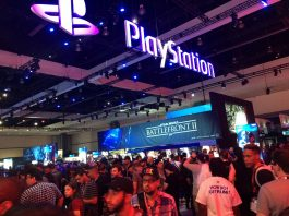 PlayStation booth