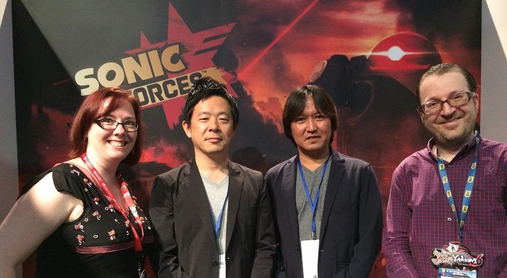 Sonic entrevue