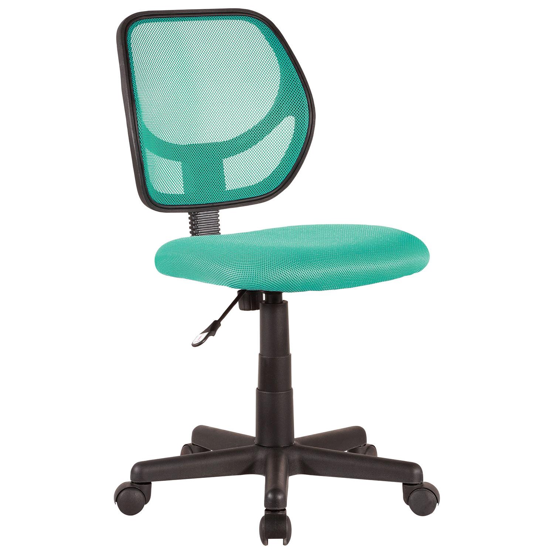 fauteuil de bureau en filet Milbrook couleur sarcelle