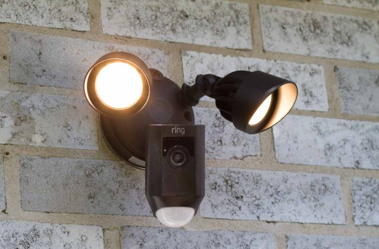 Caméra à projection Ring