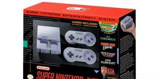 Super NES Classic box