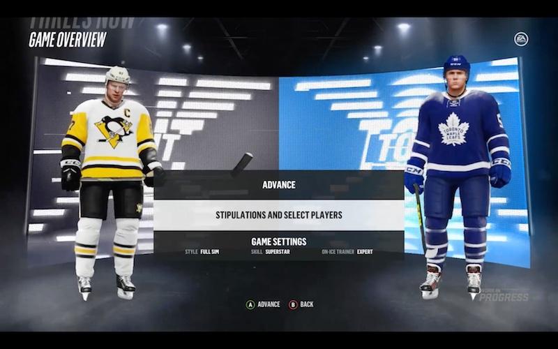 NHL 2018 Beta