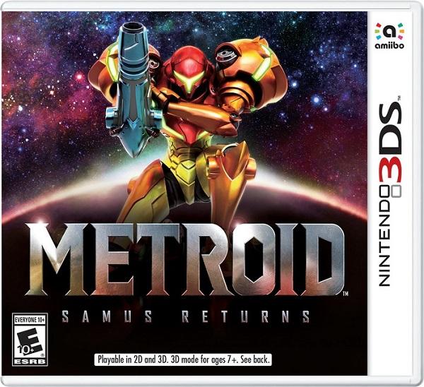 Metroid Samus Returns pochette