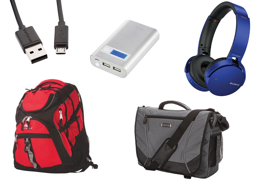 Accessoires technos pour la rentrée scolaire