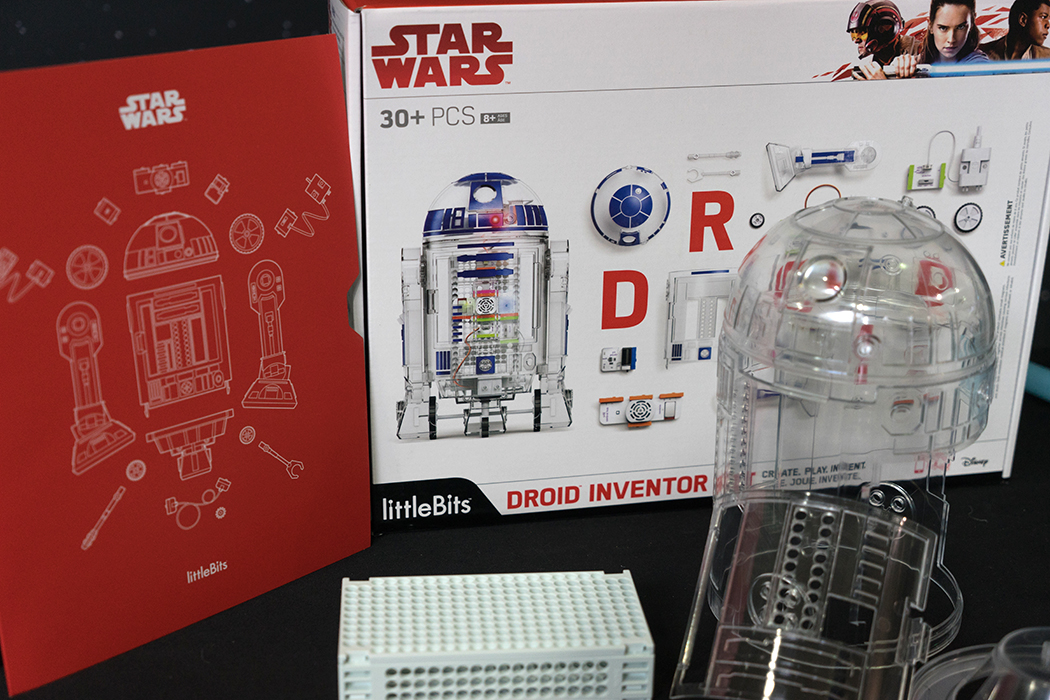 Star Wars trousse d'inventeur de droïde littleBits inventor Droid Kit