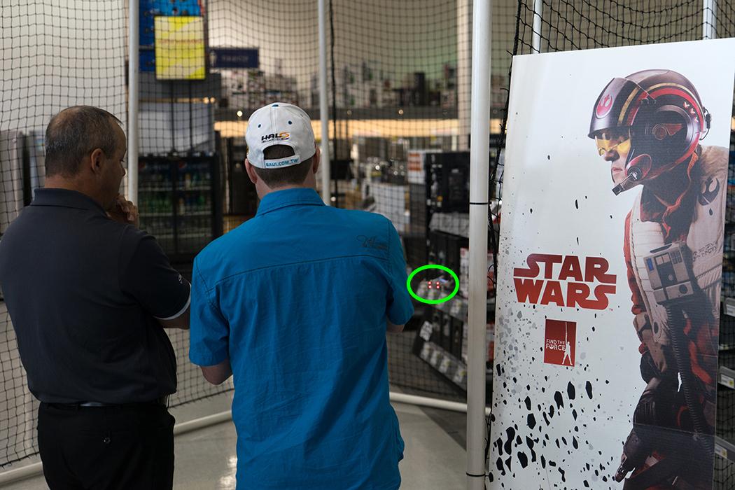 Star Wars drones quadricoptères