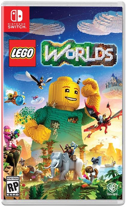 LEGO Worlds pochette