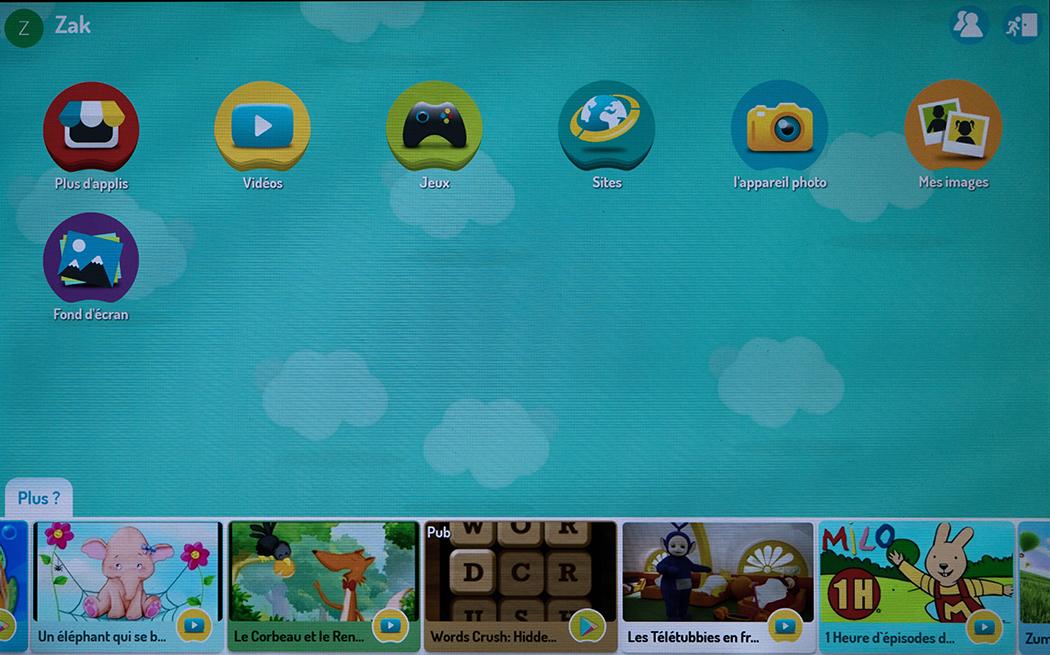 Lenovo Tab 4 Mode Enfants Kidoz