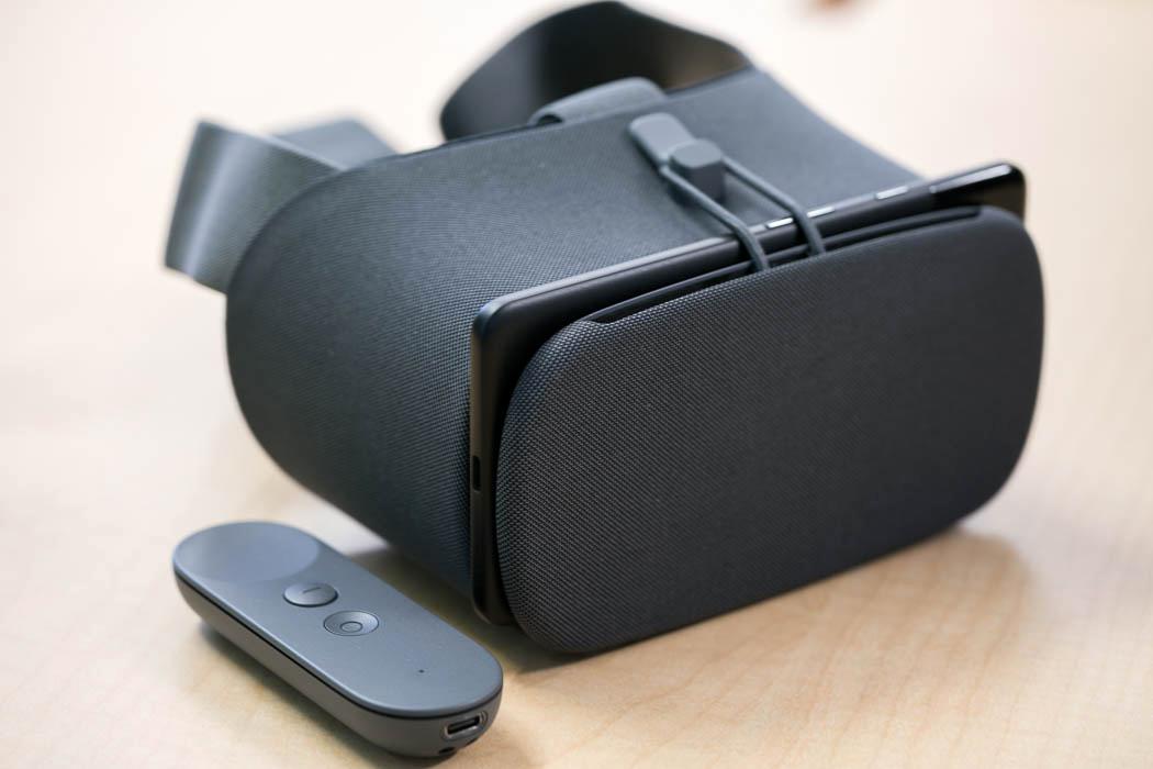 casque de réalité virtuelle Google Daydream View 2017