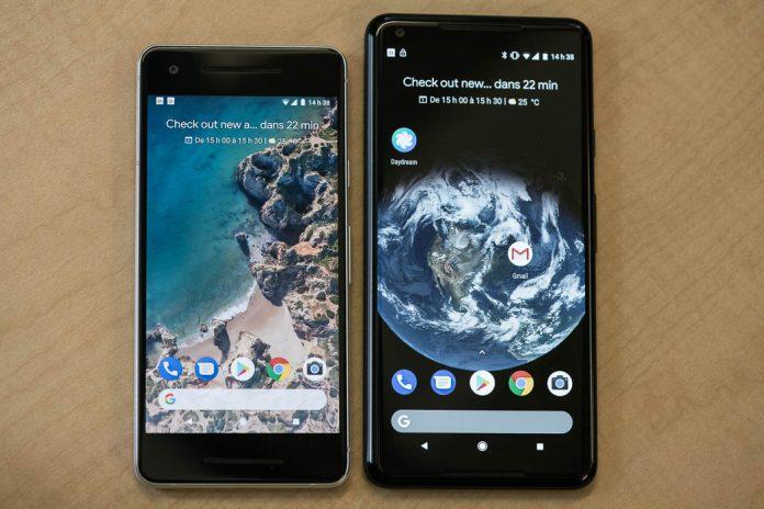 Google Pixel 2 et Pixel 2 XL