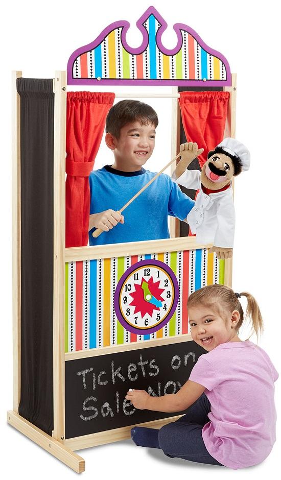 théâtre marionnettes Melissa & Doug