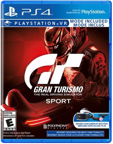 Gran Turismo Sport pochette