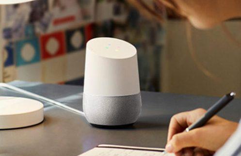 Noël intelligent avec Google Home