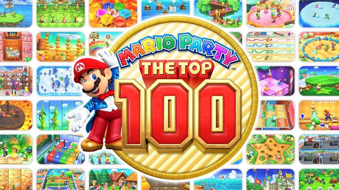 Mario Party header