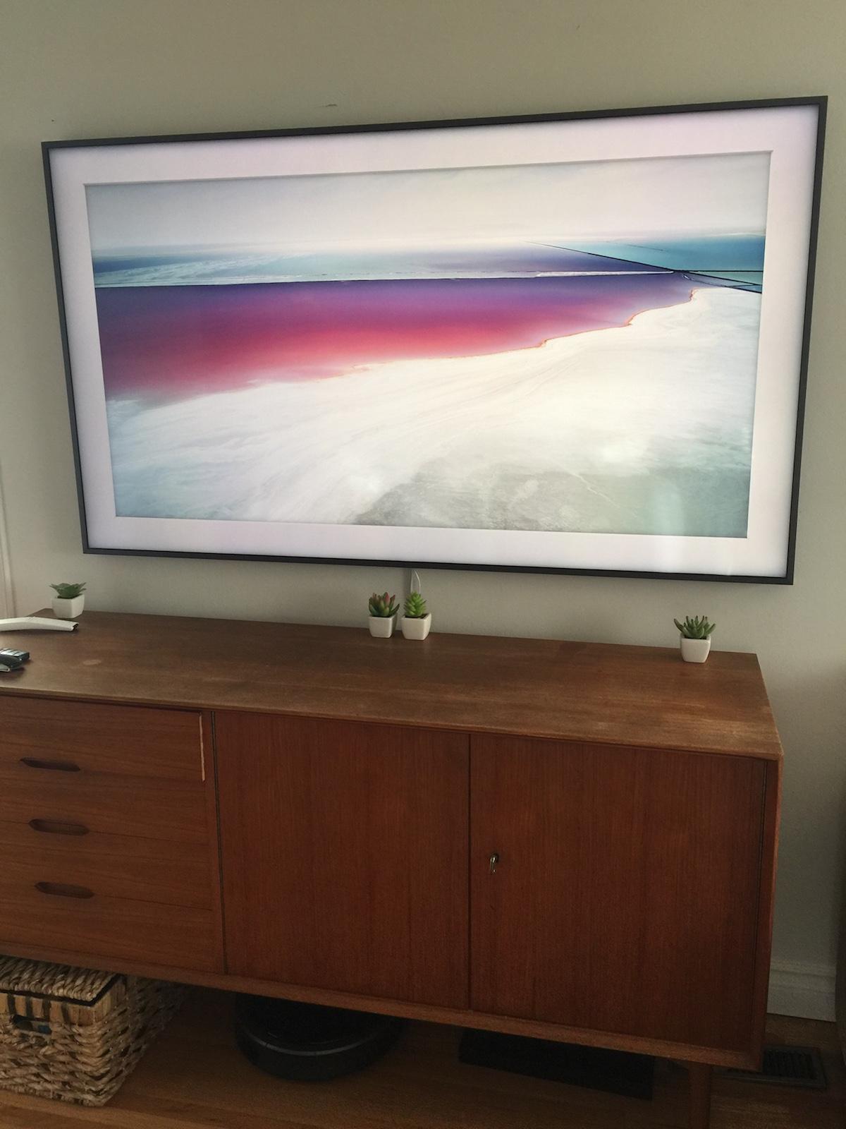 Comment Cacher Fils Tv Murale Évaluation du téléviseur le cadre de samsung - blogue best buy