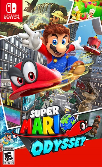 Super Mario Odyssey pochette