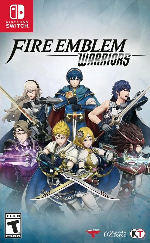 Fire Emblem Warriors - Switch pochette