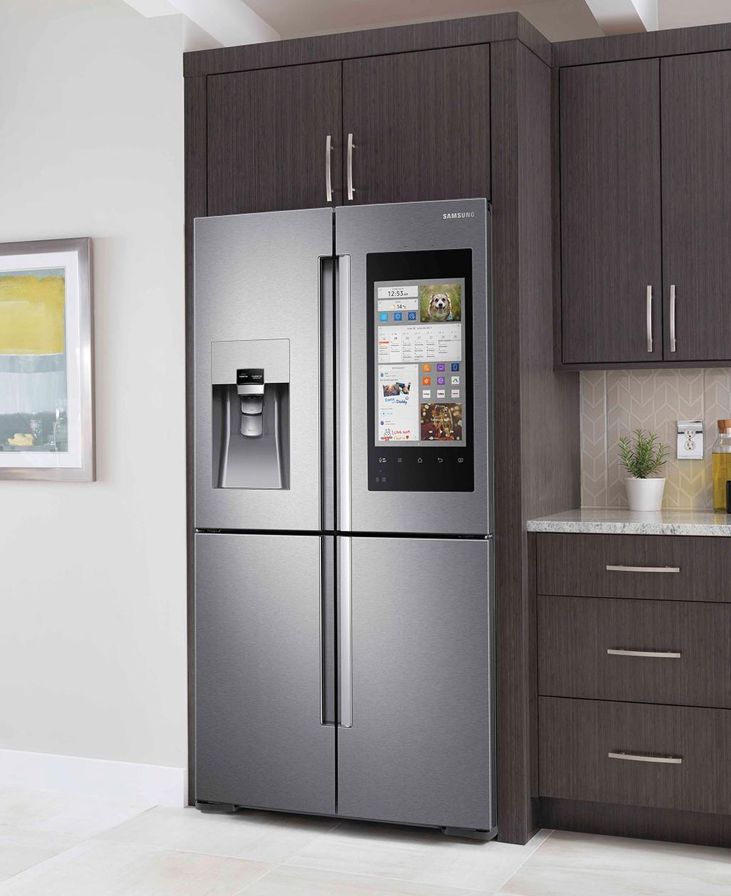 réfrigérateur connecté Family Hub de Samsung