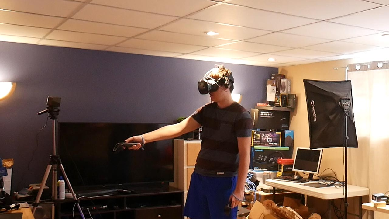 Test du HTC Vive