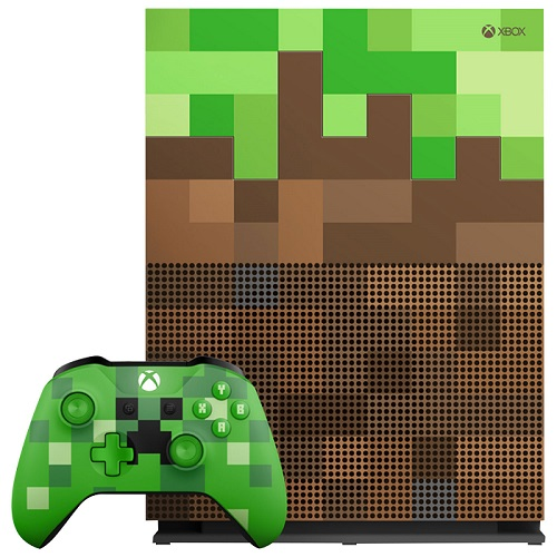 Xbox One S Minecraft console