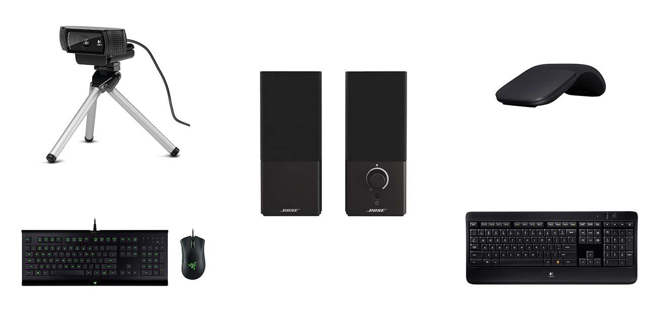 cinq accessoires essentiels pour tout usager d'un ordinateur