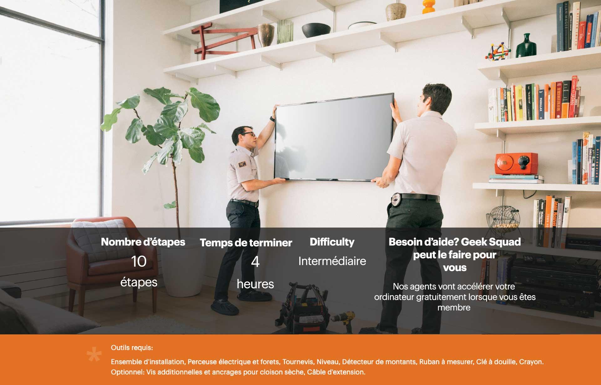 A Quelle Hauteur Mettre Une Tele Au Mur comment installer un téléviseur au mur - blogue best buy