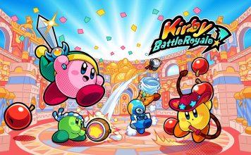Kirby Battle Royale header