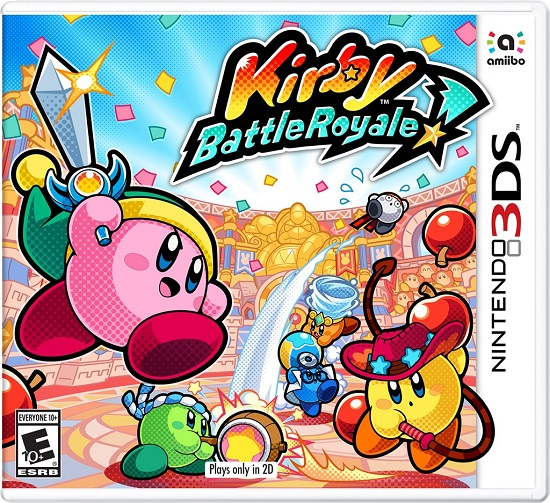 Kirby Battle Royale pochette