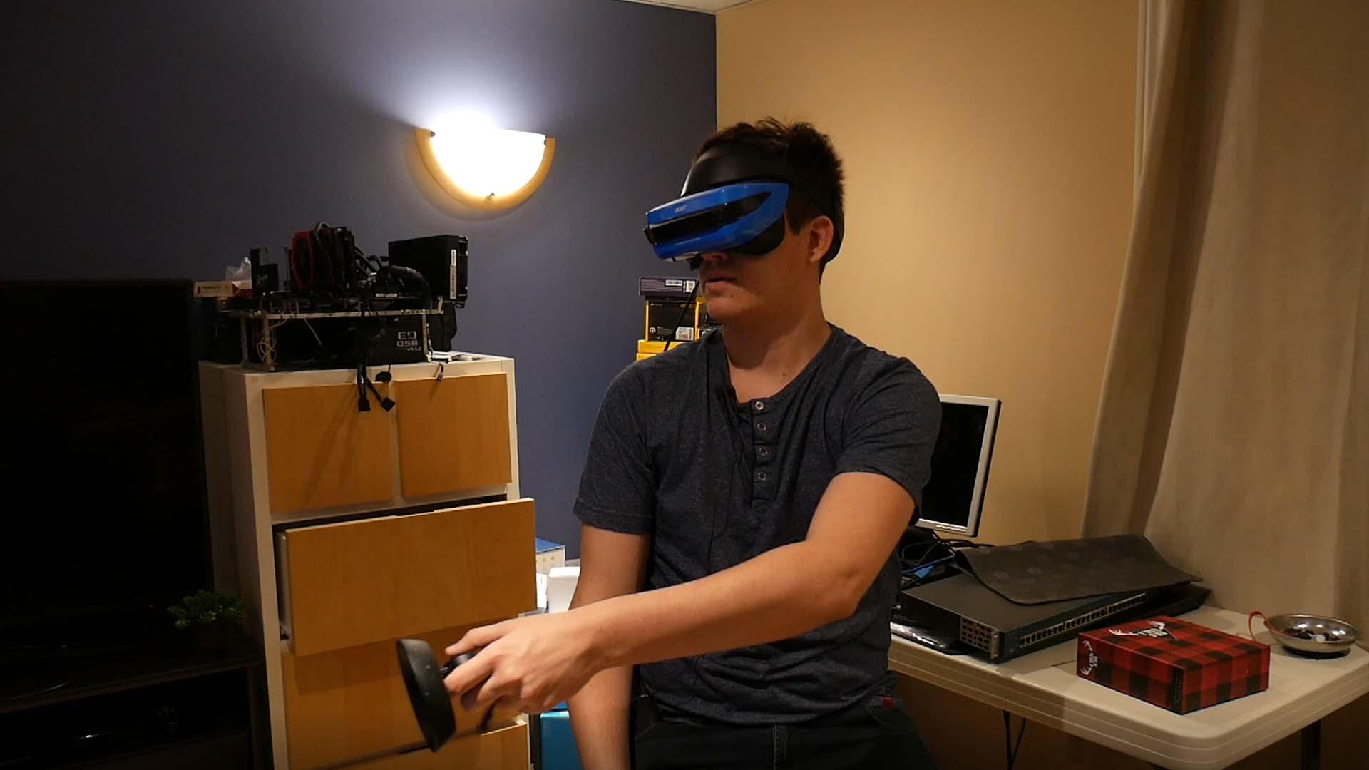 Acer réalité virtuelle