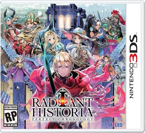 Radiant Historia pochette
