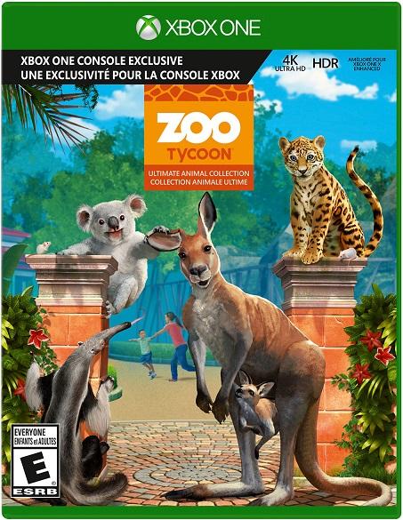 Zoo Tycoon pochette