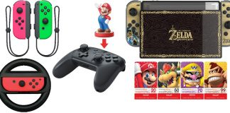 Accessoires intro Nintendo Switch