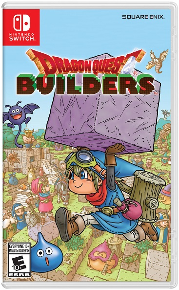 Dragon Quest Builders pochette