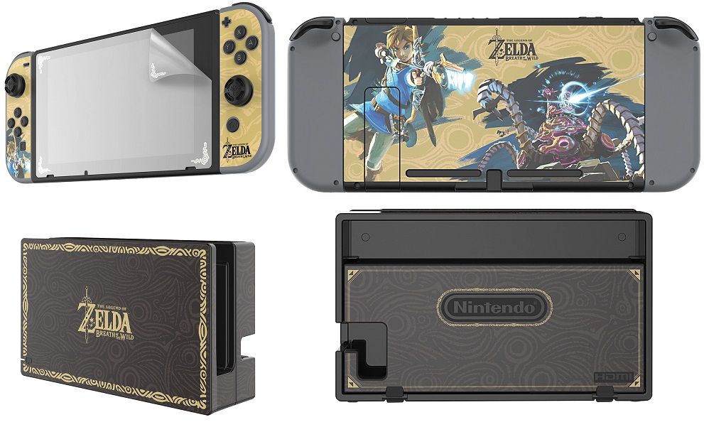 Zelda protecteur Switch