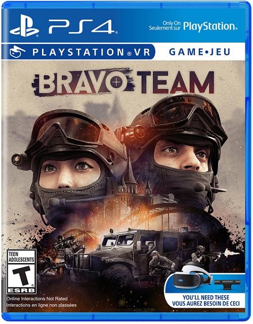 Bravo Team pochette