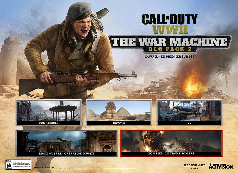 Call of Duty : WWII DLC header