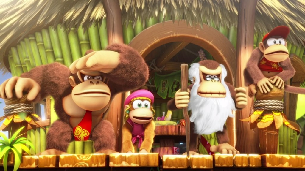 Donkey Kong famille header
