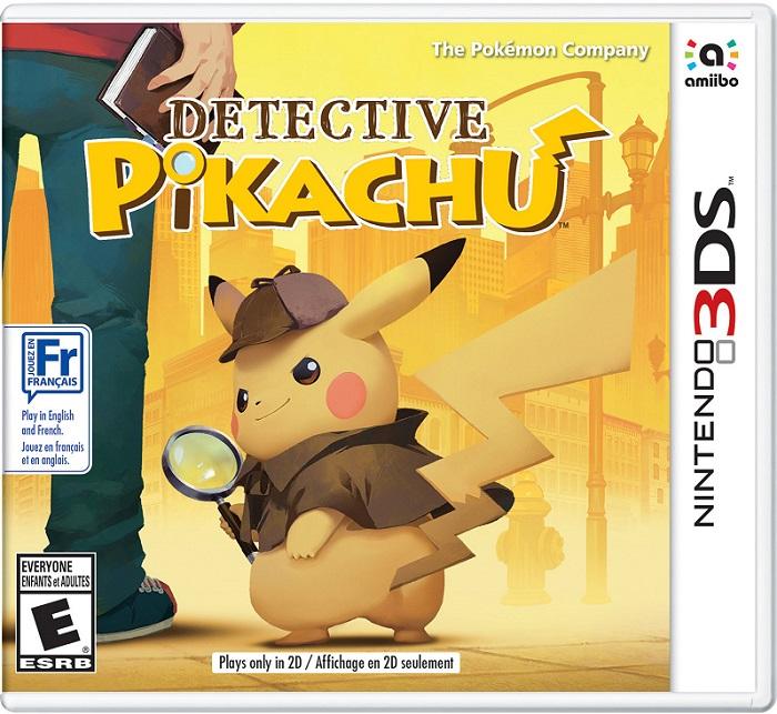 Detective Pikachu pochette