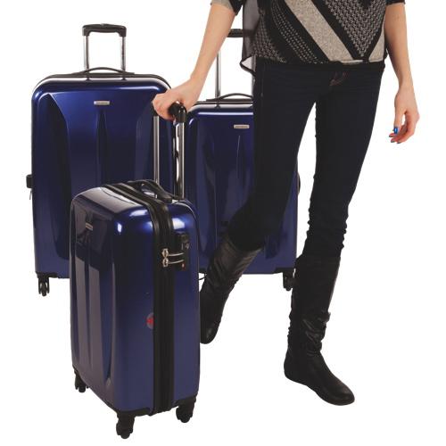 Ensemble de 3 valises rigides extensibles série Tech de Samsonite